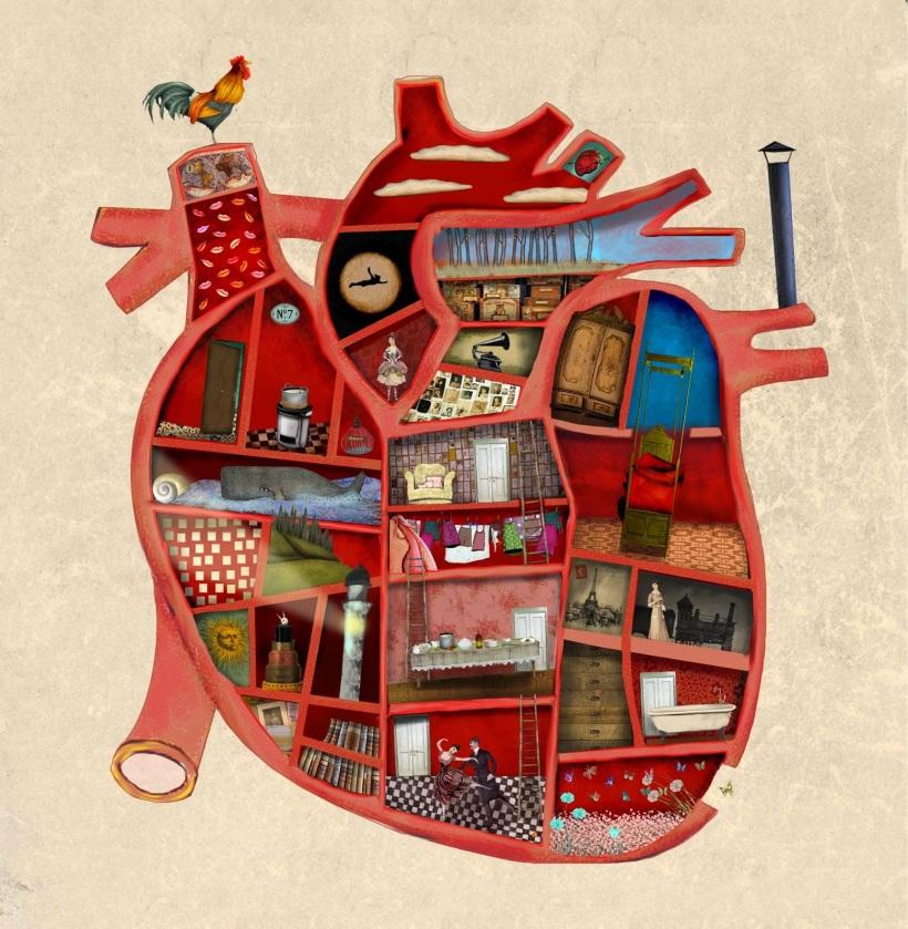 corazón casa