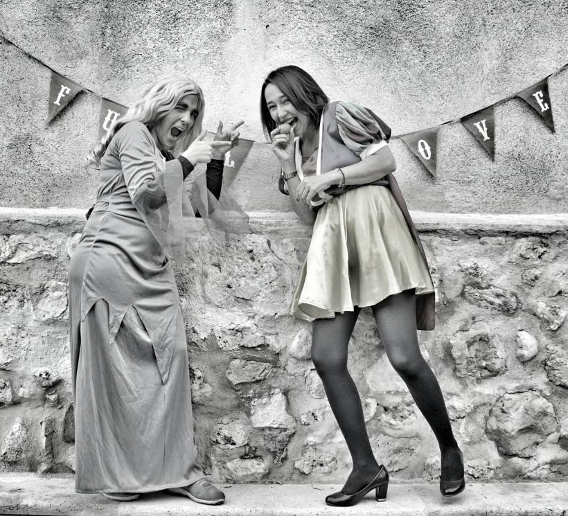 Belén y Ana miedo2
