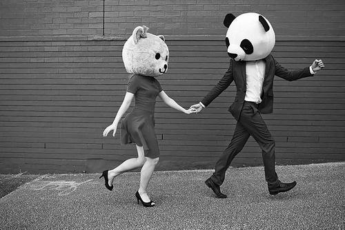 paso a paso panda y oso
