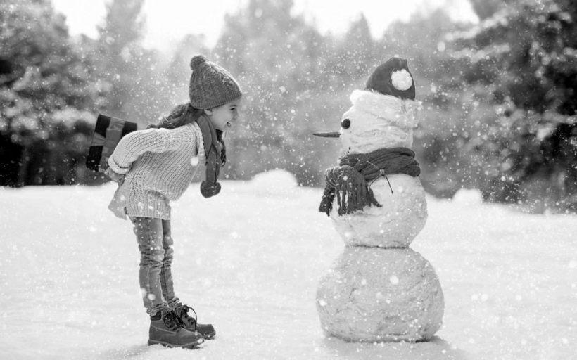 sorprender a un muñeco de nieve