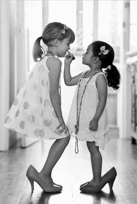 chicas con tacón
