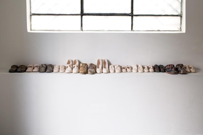 zapatos muchos