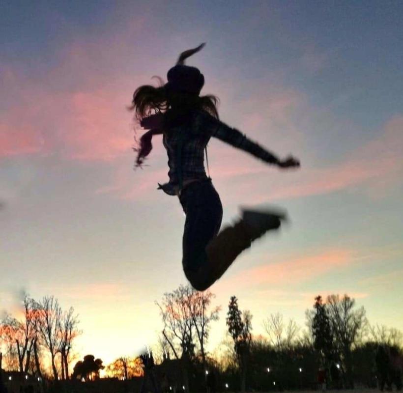 volar por los aires