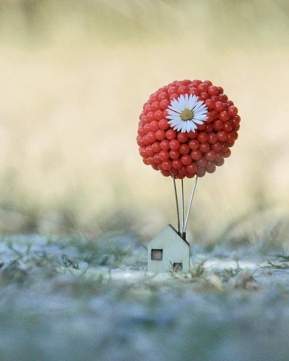 casa up con globos