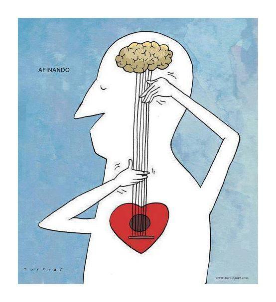 Afinar cerebros