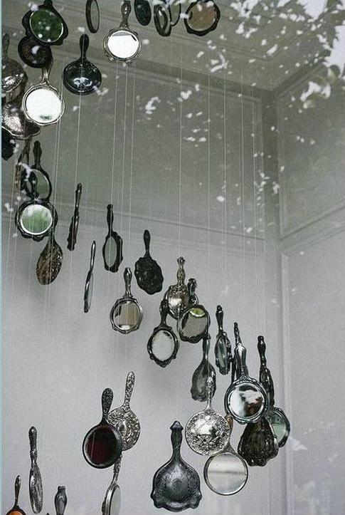 ducha de espejos